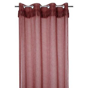 Kardin Demetria 140x260cm purpur