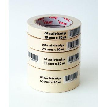 Maalriteip Vibac 216 25mmx50m 0219360250050