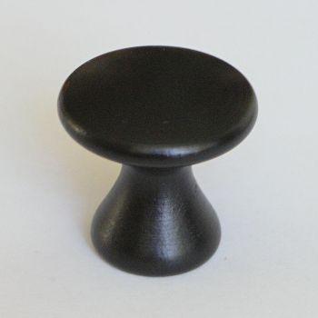 Mööblikäepide G58 d=34 mm must  2 tk 4743025006645