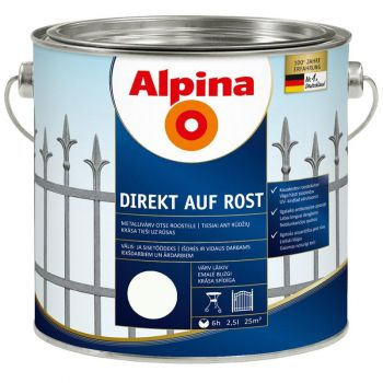Alpina Direkt auf Rost 2,5L valge