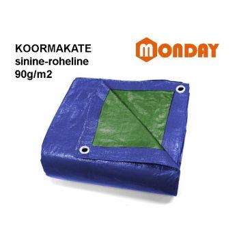 4743217052580 Koormakate 5x8m sinine 90g/m²
