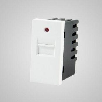 USB laadija-pesa Tenux valge 47422629