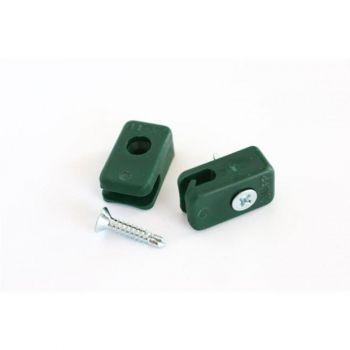 kinnitusklamber võrkaiale roheline