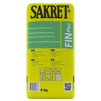 Kuivpahetl Sakret FIN+ 4kg
