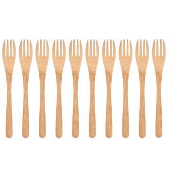 Kahvlid bambusest 16cm 10tk 6410413174436