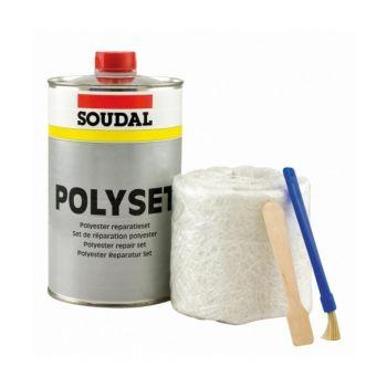 Pahtlikomplekt Soudal Polyset 250g