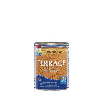 Terrassiõli Aura Terrace Aqua 0,9L pruun 6430066630875