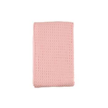 Voodikate Waffle 150x250cm roosa