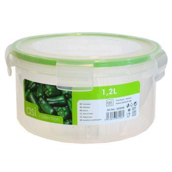 Säilituskarp 1,2L ümar