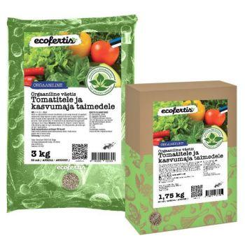 Väetis Ecofertis orgaaniline tomatitele ja kasvumaja taimedele 1kg 4745090020106
