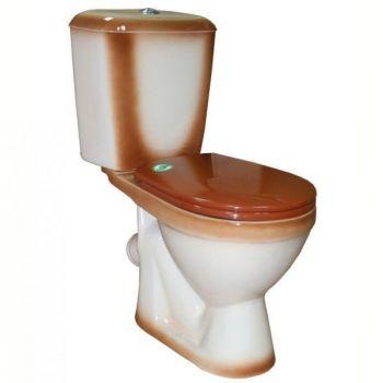 WC-pott Rosa Lira 45° pruun