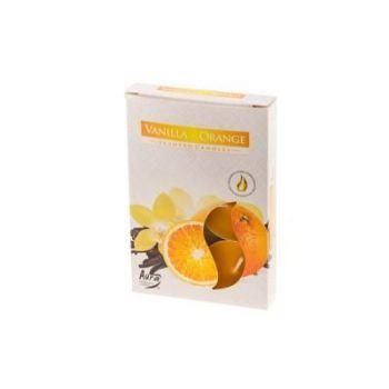 Teeküünal 6tk vanill-apelsin