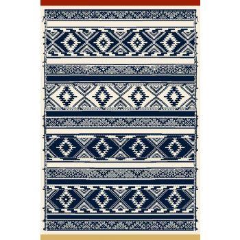 Vaip Jasmin 60x120cm Navy blue 5901760005050