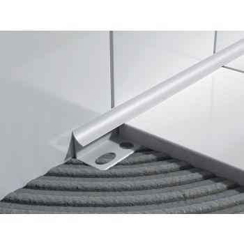 PVC-liistu sisenurk L 105 hall 10mm/2,5m  5907684623554