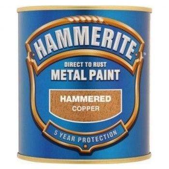 Metallivärv Hammerite Hammered, vasardatud pind, 750ml, vaskne