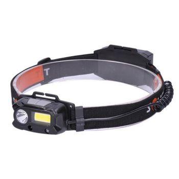 LED-pealamp 3W SPOT + 1W COB, USB-laetav     8592718024307