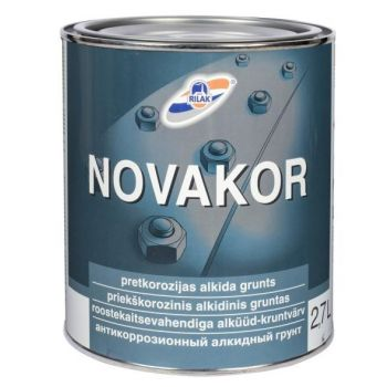 Korrosioonivastane alküüdkrunt Novakor hall 2,7L