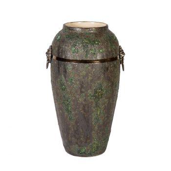 Lillevaas Leon H35cm roheline