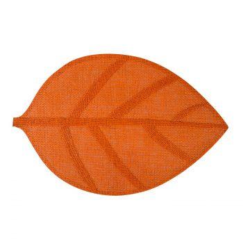 Lauamatt Leaf 30x45 oranž 4741243741553