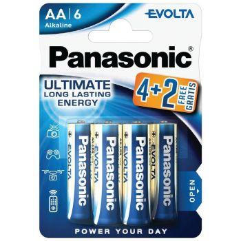 Patarei Panasonic Evolta AA/LR6 4+2tk 5410853044734
