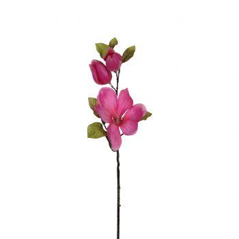Kunstlill Magnoolia roosa 68cm