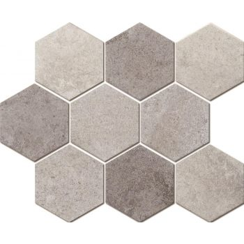 Mosaiik Marble hexagon mix