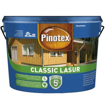 Lasuurne puidukaitsevahend Pinotex Classic Lasur 3L, värvitu