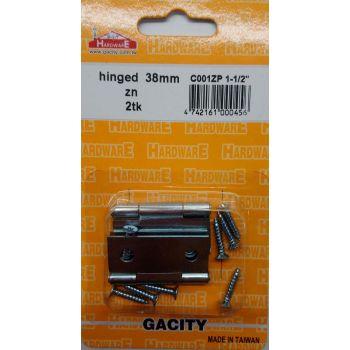 Hinged 38mm 2tk tsingitud 4742161000456