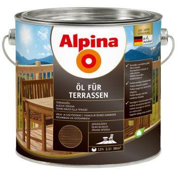 Alpina Öl für Terrassen 2,5L tume