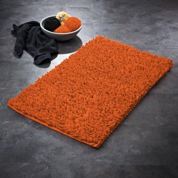 Vannitoavaip 60x90cm Hair oranž
