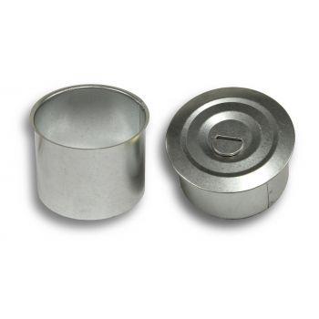 Kamina tahmatopp tsinkkaanega D100mm