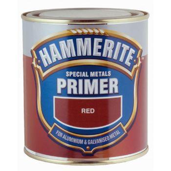 Erimetallide kruntvärv Hammerite Special Metals Primer 500ml, punane