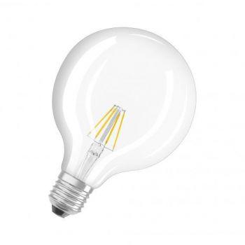 LED lamp 4W 827 E27 G125 470lm Klaar 4052899972384