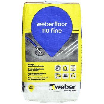 Isetasanduv põrandasegu Weber.floor 110 FINE 20kg