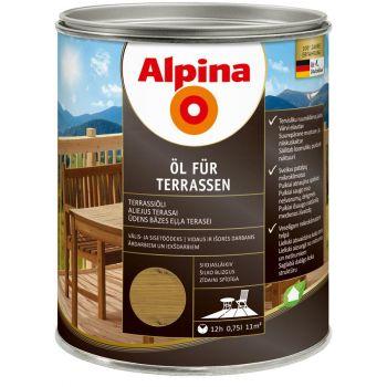 Alpina Öl für Terrassen 0,75L keskmine
