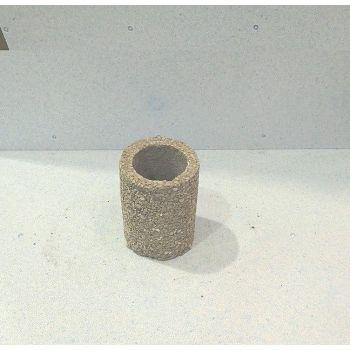 Lillepott pesubetoonist 15/20cm, hele, põhjaga