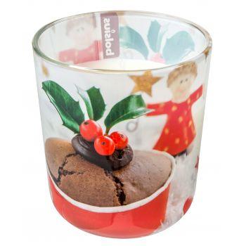 Lõhnaküünal klaasis Muffin 24h 8717847123138