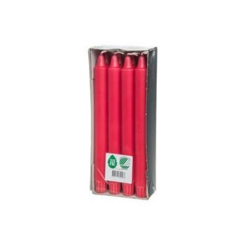 Küünal lühtri 8tk/pk punane