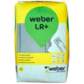 Viimistluspahtel Weber LR+ 2kg 4741109320007