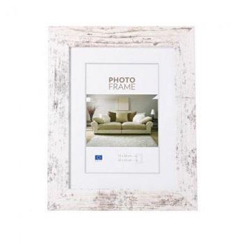 Pildiraam 10x15cm Narvik vannutatud valge 4744215013948