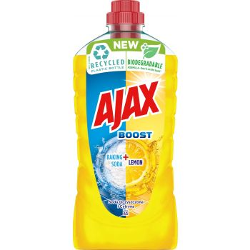 Üldpuhastusvahend Ajax Boost Baking Soda & Lemon 1l 8718951190160