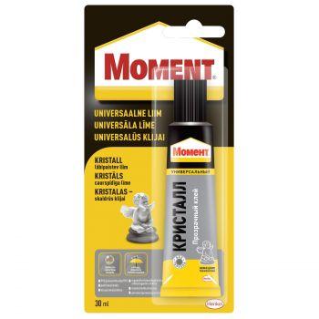 Liim Moment Crystal läbipaistev 30ml 9000101121650