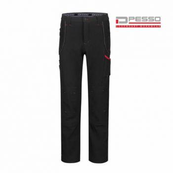 Softshell püksid Pesso Nebraska must C56