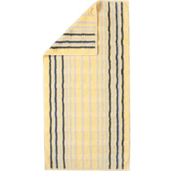 Froteerätik Cawö Noblesse Lines 30x50cm kollane