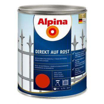 Alpina Direkt auf Rost 0,75L tulipunane