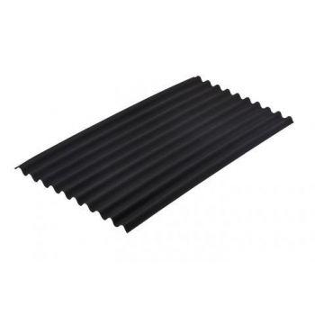 Onduline Classic katuseplaat 2,0 x 0,94 m must