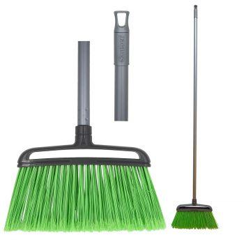Õuehari varrega, roheline/hall 8032638010900