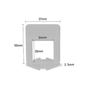Plaatimisankur 1mm 15-25mm 100tk 4743217007610