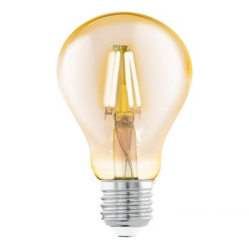 LED lamp Eglo 4W E27 A75 amber 9002759115555