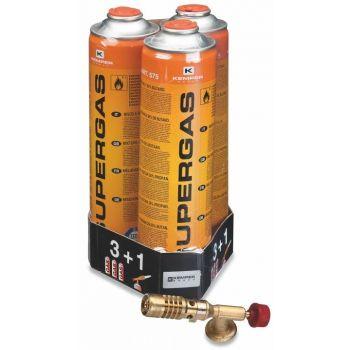 Gaasipõleti + 3x600ml gaasi 8008004112509